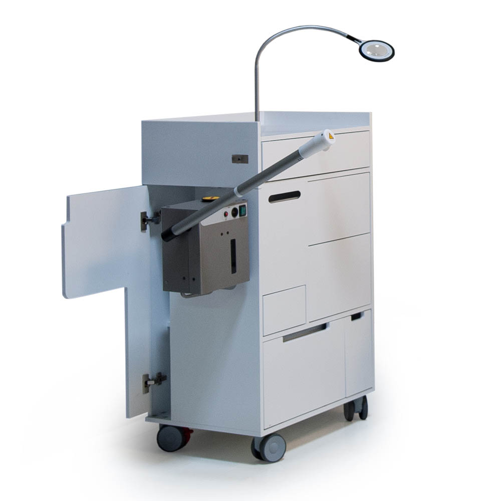 Gharieni treatment unit spa trolley GST