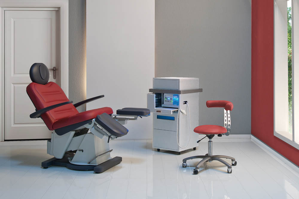 Gharieni podiatry chair SLS Podo