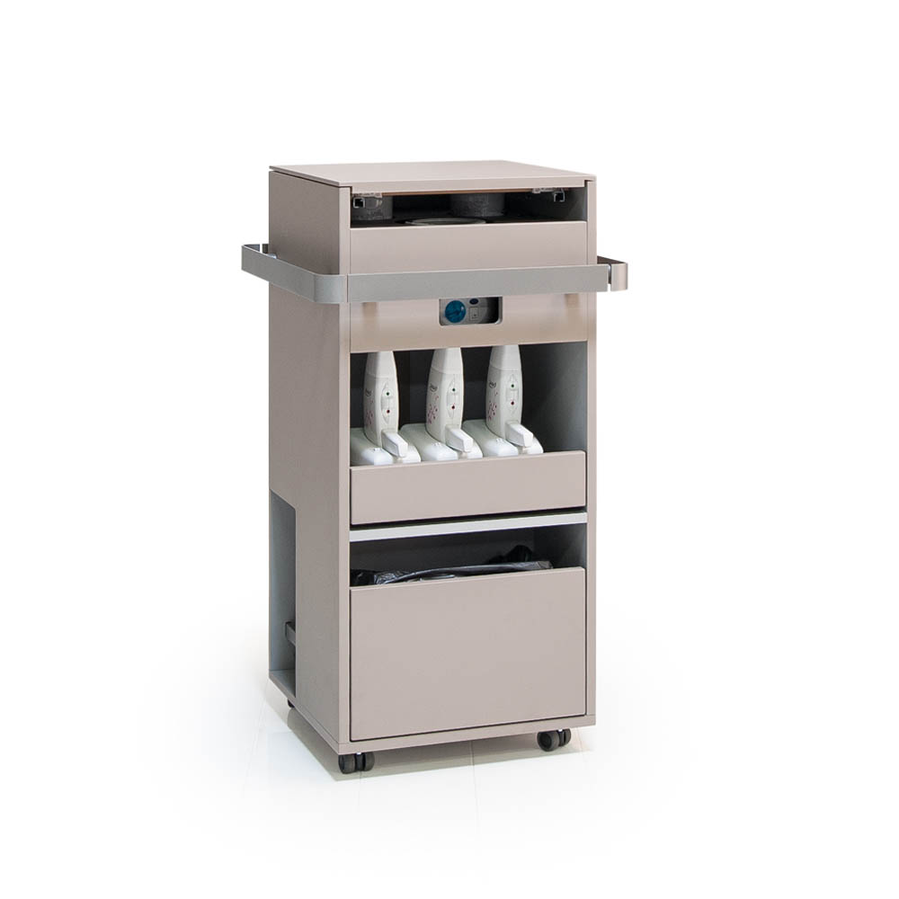 Gharieni MLX wax trolley plus furniture